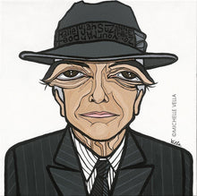 Leonard Cohen, Limited Edition Print