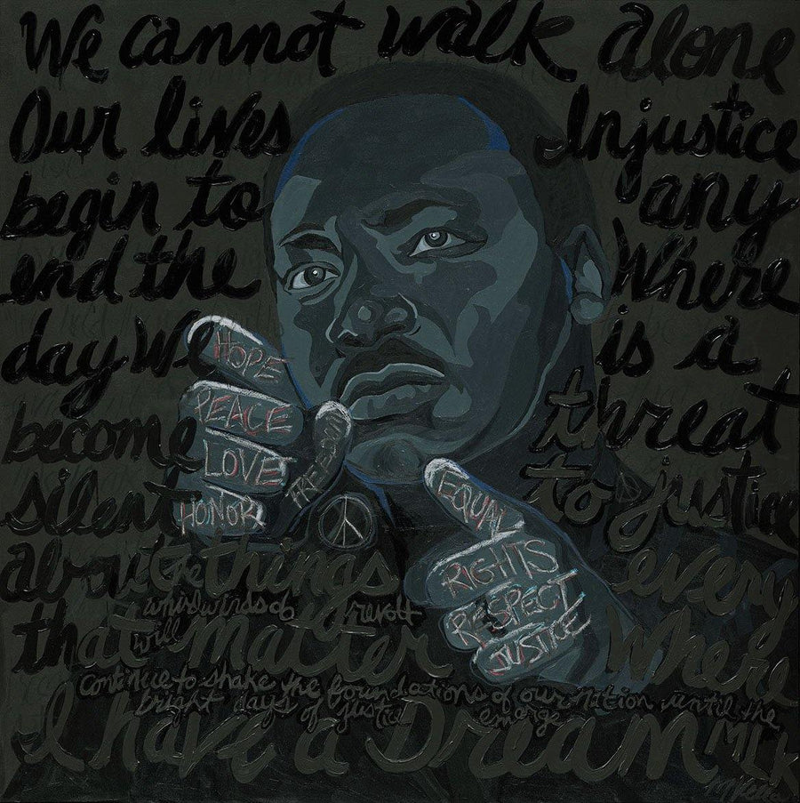 Martin Luther King Jr., Limited Edition Print