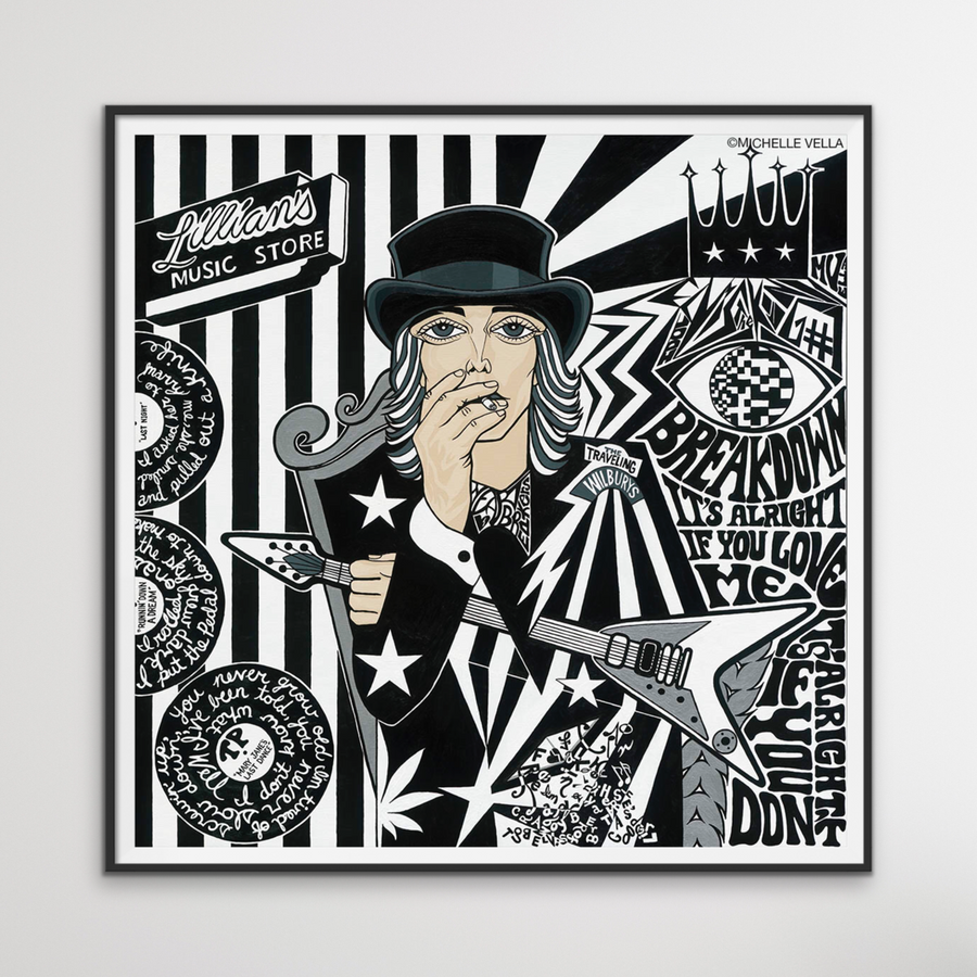 Tom Petty, Limited Edition Print