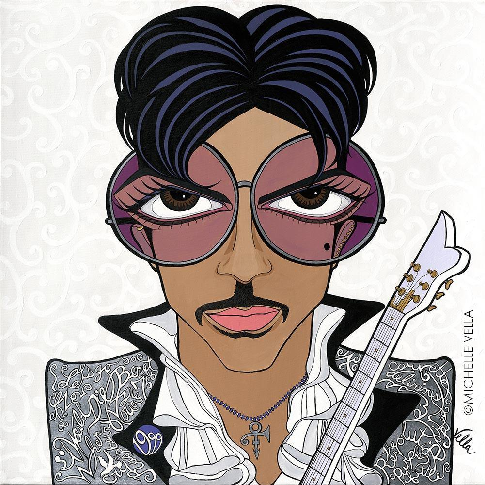 Prince (Delirious) Limited Edition Print