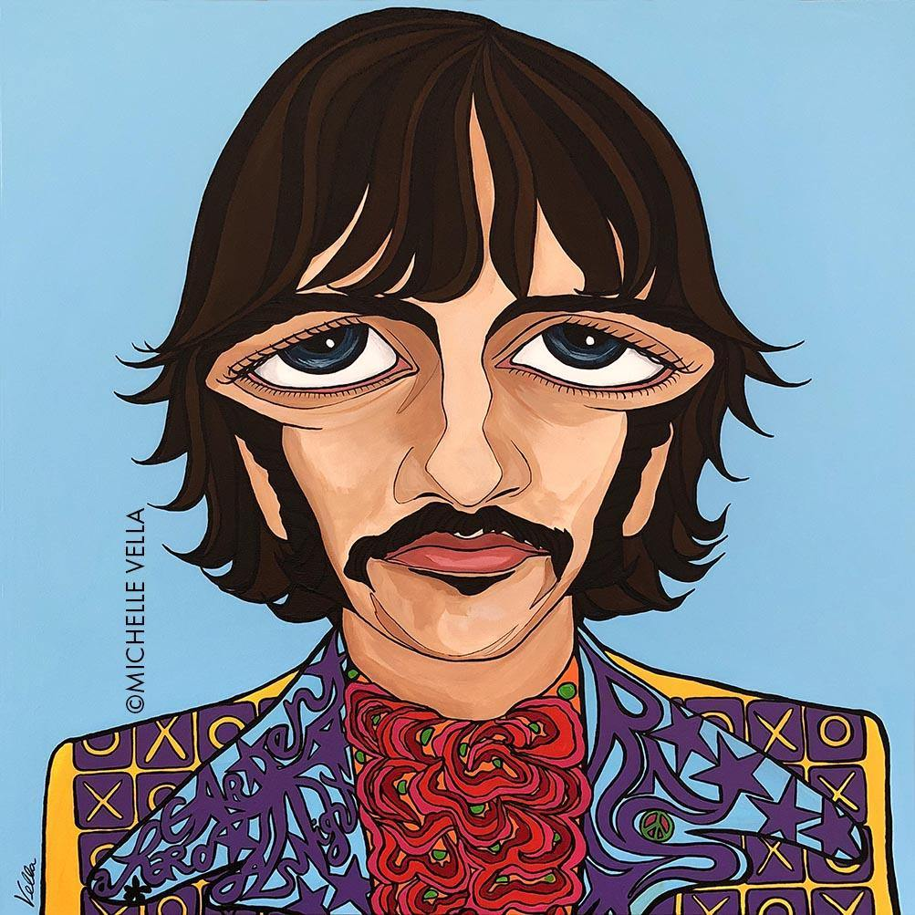 Ringo Starr, The Beatles, Limited Edition Print
