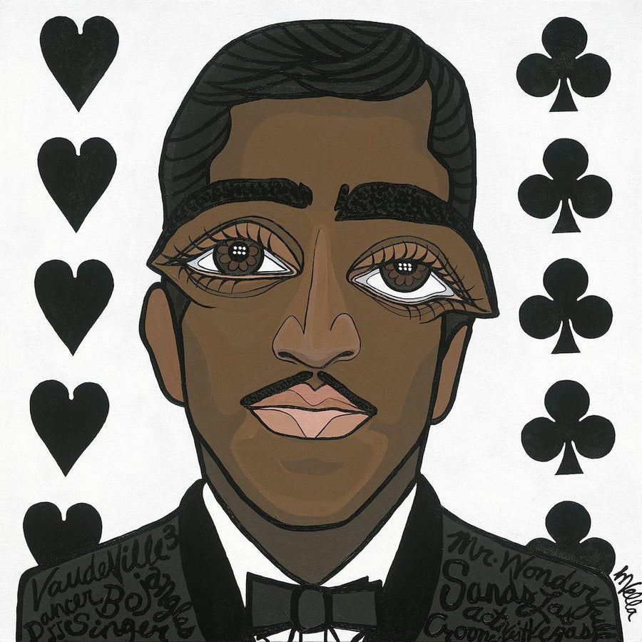 "Sammy Davis Jr., ""The Rat Pack"" Limited Edition Print - MICHELLE VELLA"