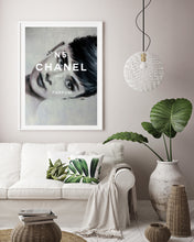 Load image into Gallery viewer, Audrey Hepburn Chanel print