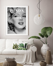 Load image into Gallery viewer, Marilyn Monroe Prada print