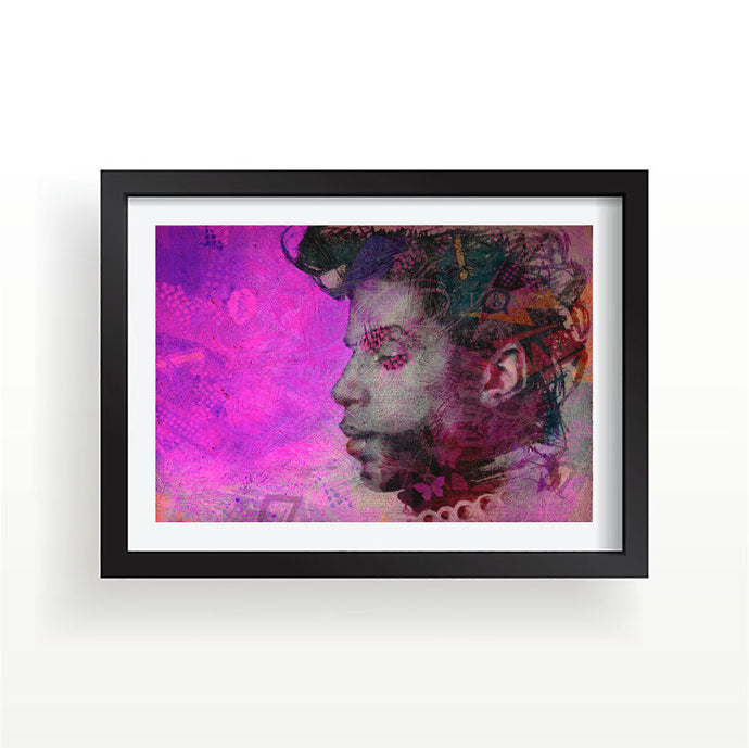 Prince butterfly art print