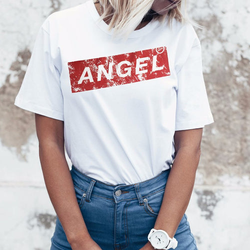 Angel London broken tee