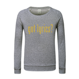 GOT LYRICS Mens Sweatshirt