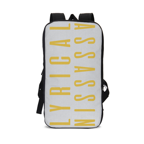 LALYRICALASSASSIN1GOLD Slim Tech Backpack