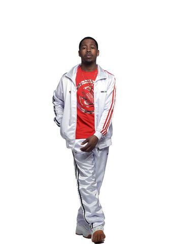 LYRICAL SATIN TRACK SUIT
