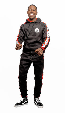 MELINATED LOGO SWEATSUIT