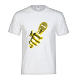 LA Gold Mic Mens T-Shirt