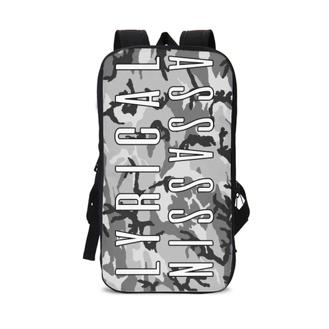 LYRICAL ASSASSIN SNOW CAMO Slim Tech Backpack