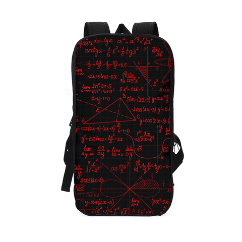 SCHOLAR RED Slim Tech Backpack