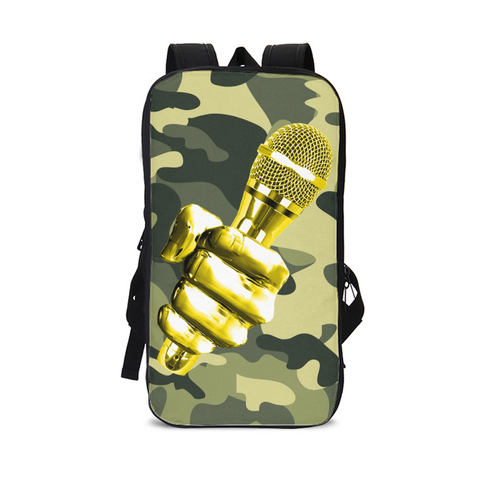 LYRICAL ASSASSIN CAMO Slim Tech Backpack