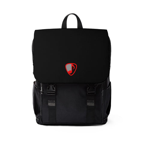 LYRICAL LOGO Unisex Casual Shoulder Backpack