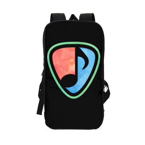 LA MUSIC LOGO Slim Tech Backpack