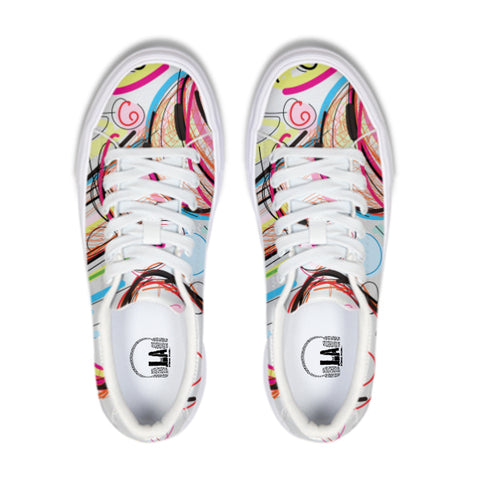 abstract mic Sneaker