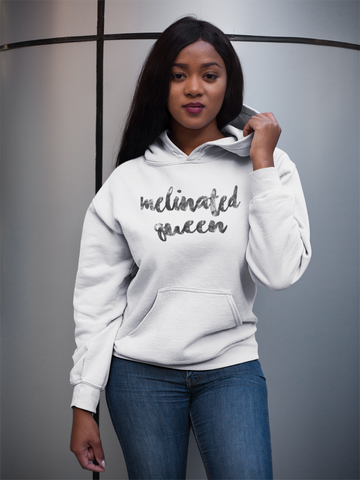 Melinated Queen Womens Hoodie