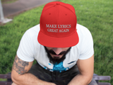 MLGA RED NEW ERA SNAPBACK