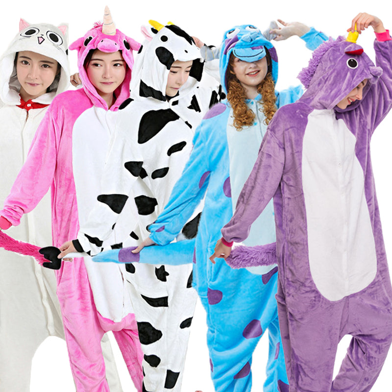 Adult Fleece Onesie Pajamas