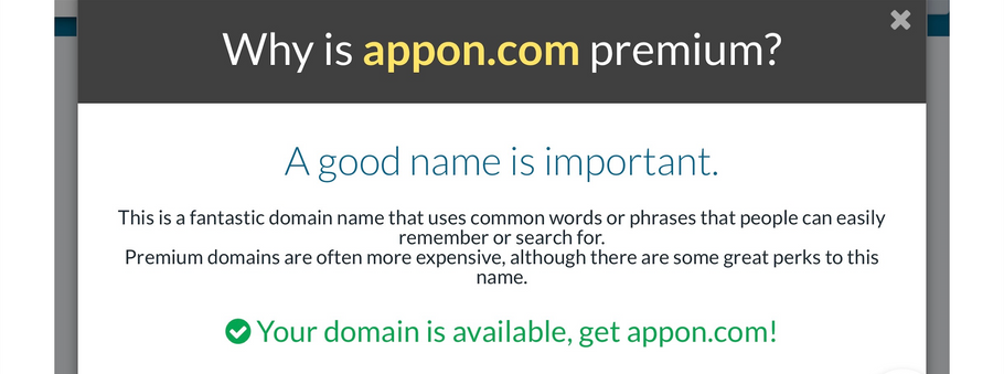 Appon.com® Premium Domain Name 101domain.com Marketplace June 6, 2019