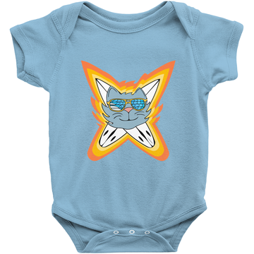 Surfari cat onesie
