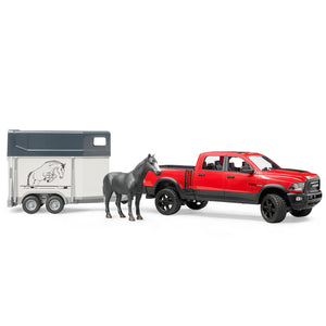 Ram 2500 Power Wagon + Horse Trailer with 1 Horse