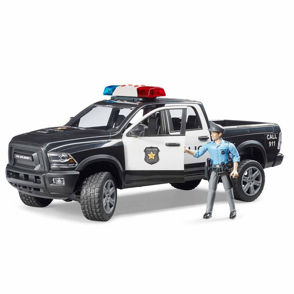 RAM 2500 Police Pickup with Policeman