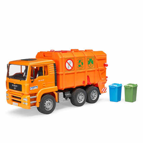 MAN TGA Garbage Truck (Orange)