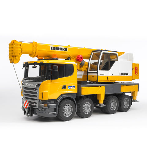 Scania R-Series Liebherr Crane Truck with Light & Sound Module