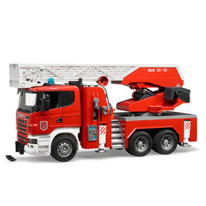 Scania R-Series Fire Engine with Ladder, Water Pump and Light & Sound Module
