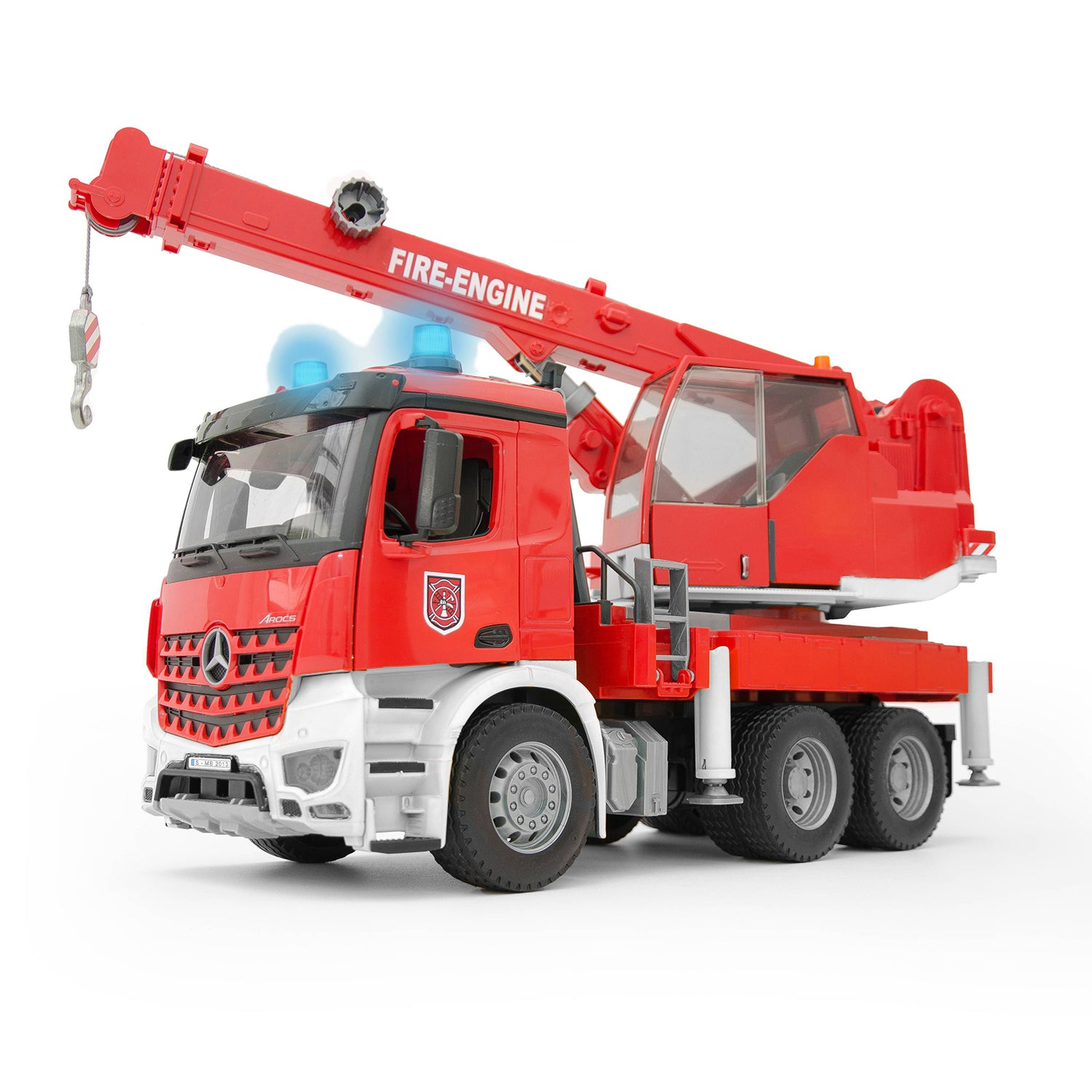 MB Arocs Fire Engine Crane Truck