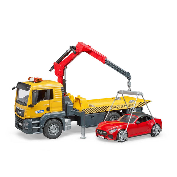 MAN TGS Tow Truck with Roadster and Light and Sound Module