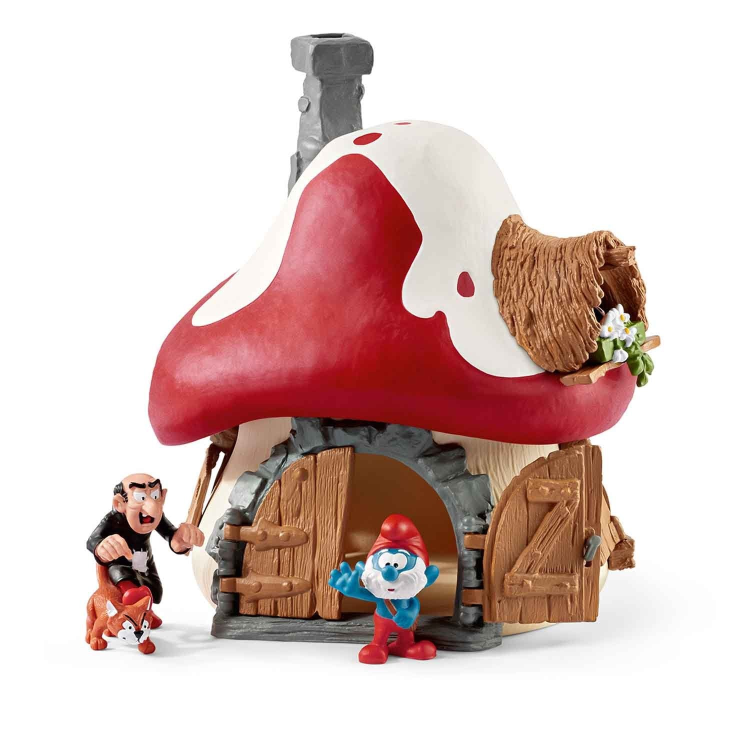 Smurf House with 2 Figurines