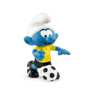 Football Smurf with Ball