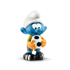 Football Smurf Goalkeeper