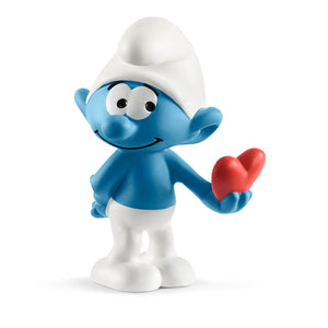 Smurf with heart