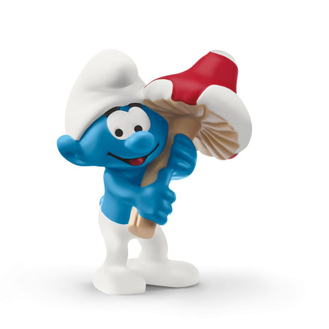 Smurf with good luck charm