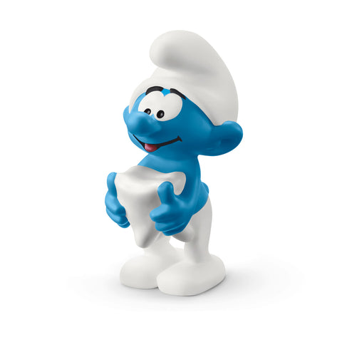 Smurf with tooth