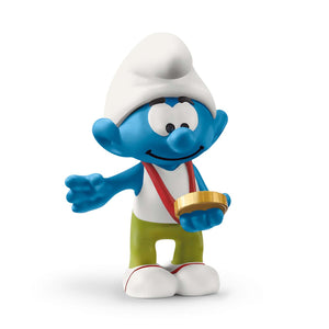 Smurf with medal