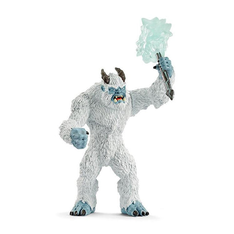 Ice Monster with Weapon