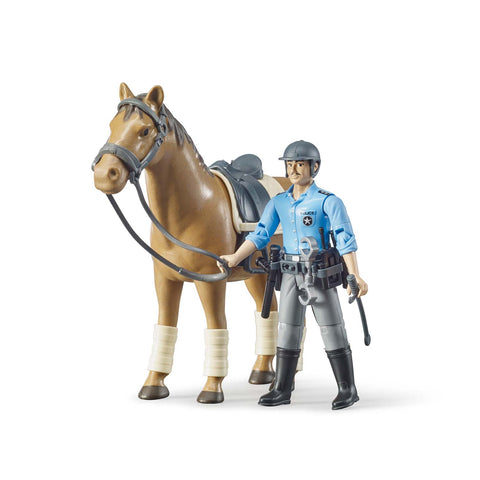 bworld Mounted Police, Horse and Policeman