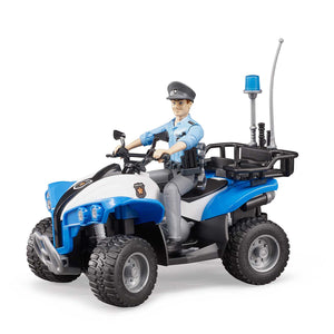 Police-Quad with Policeman & Accessories