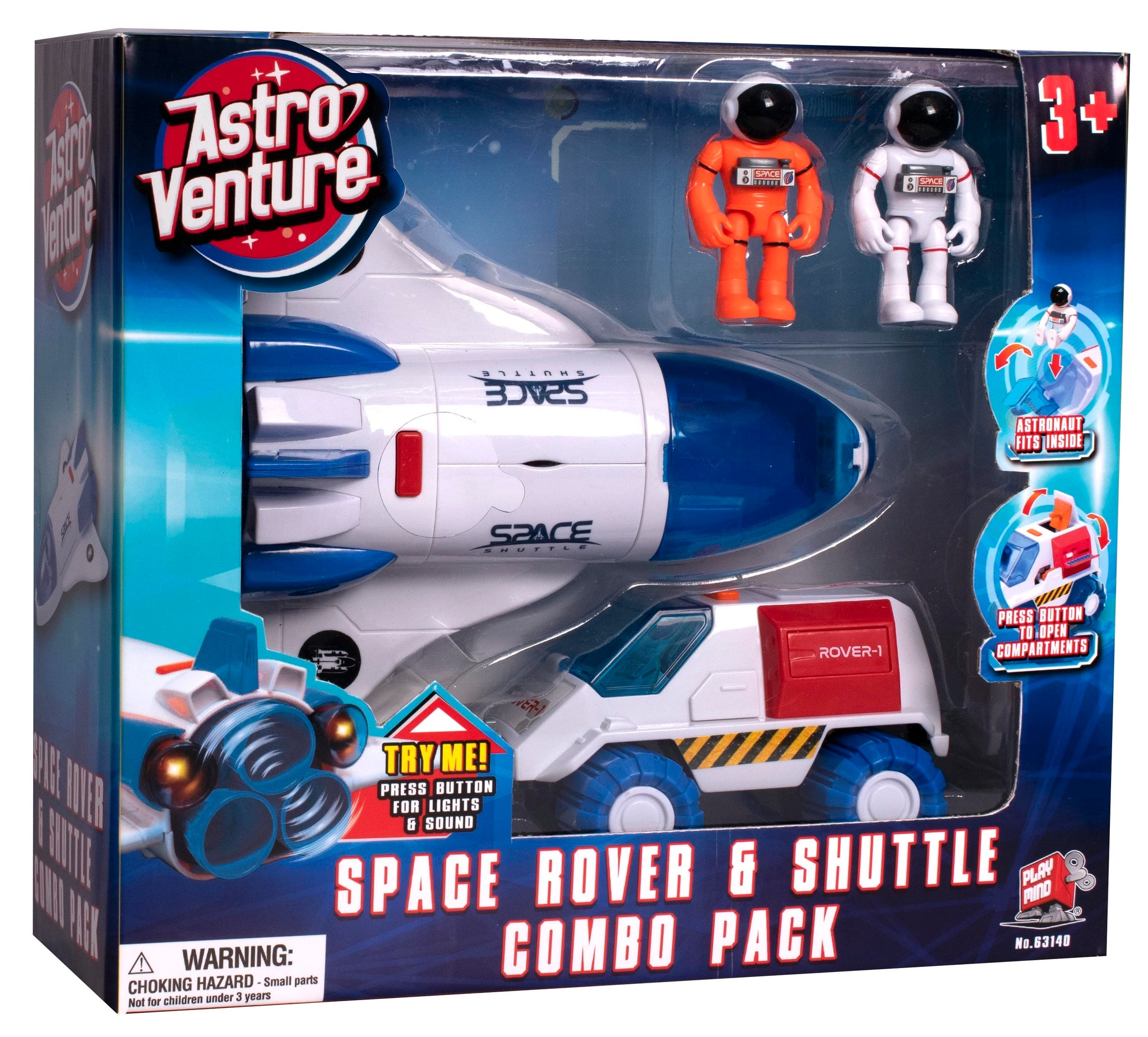 Space Rover and Shuttle Combo Set