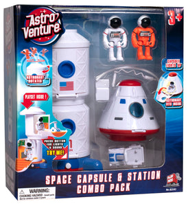 Space Capsule and Station Combo set