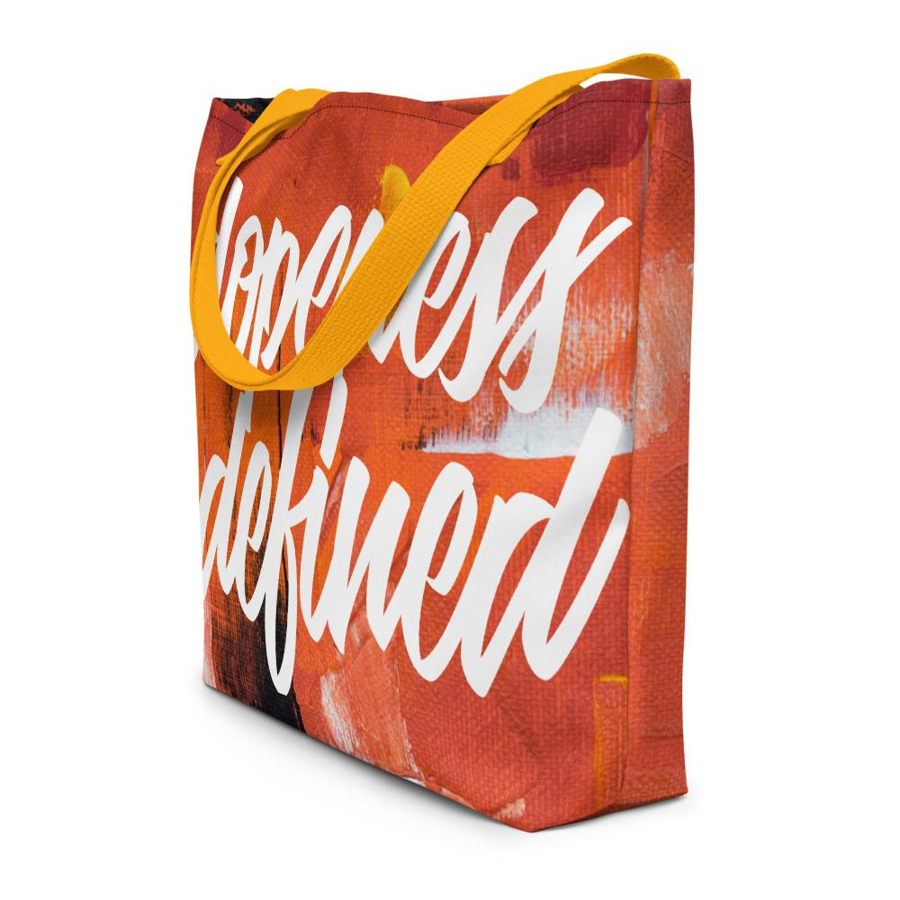 Dopeness Defined Large Tote - Eighty-Nine Threads