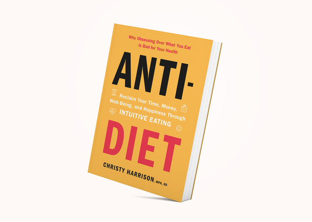 January Featured Product: Anti-Diet Book