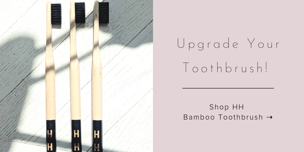 Health Hut - Biodegradable Toothbrush - Bamboo Toothbrush