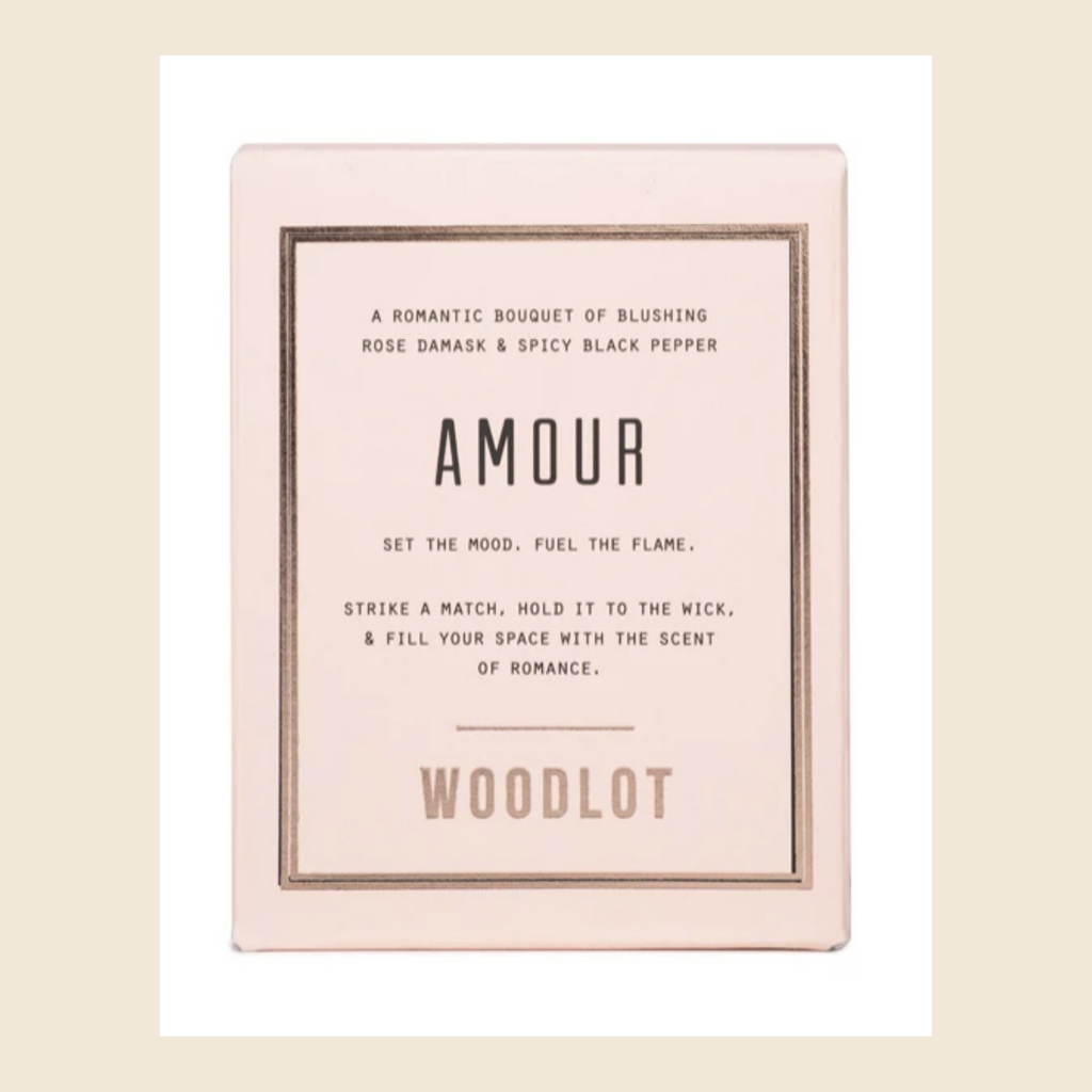 Woodlot Amour Candle - Health Hut