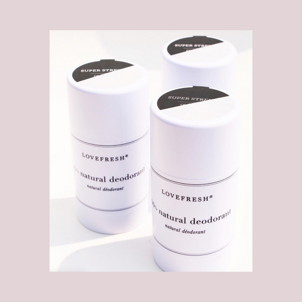 Natural Deodorants - Super Strength - Lovefresh